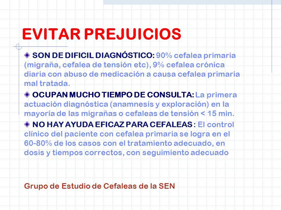- EL PACIENTE QUE ACUDE REITARADAS VECES A URGENCIAS DEBE SER REEVALUADO, EN TODO CASO, DE MANERA COMPLETA EN CUANTO ANAMNESIS, EXPLORACIÓN Y PRUEBAS Y SERÍA RECOMENDABLE LA VALORACIÓN POR UN MÉDICO DE MAYOR CATEGORÍA ES CONVENIENTE PROTOCOLIZAR LA ATENCIÓN A PACIENTES QUE REPITEN EN URGENCIAS, O ESTABLECER SEÑALES DE ALARMA MÁS PREJUICIOS
