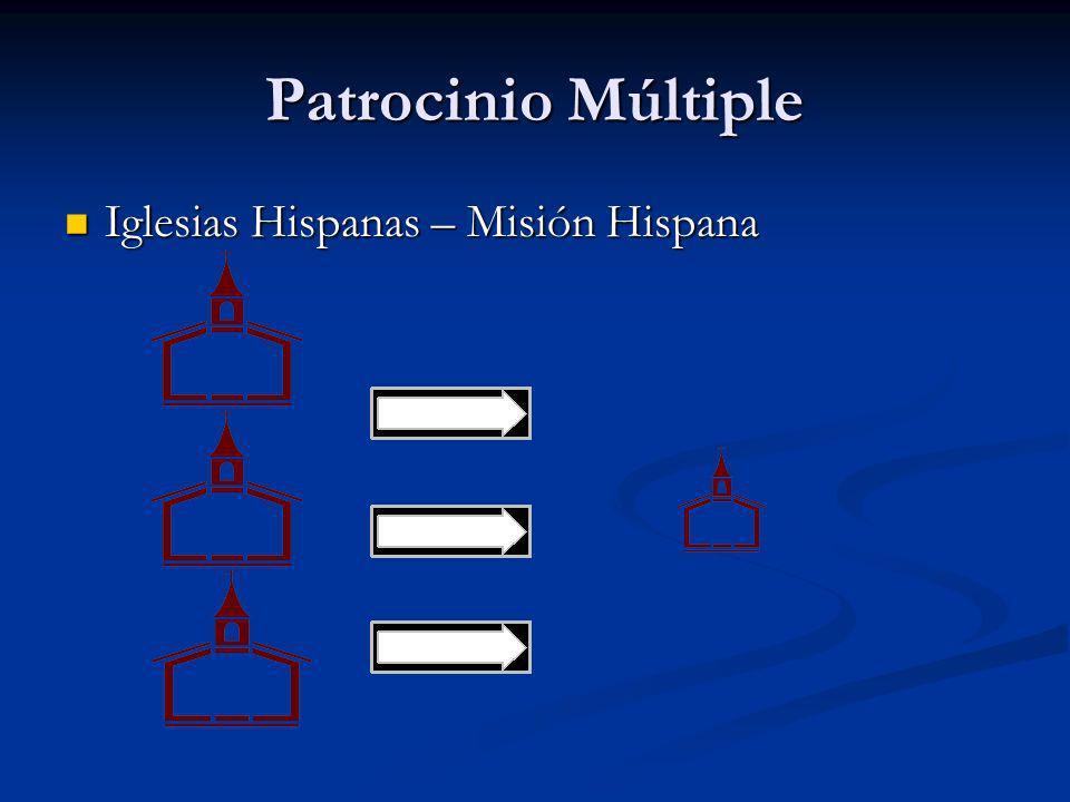 Patrocinio Múltiple Iglesias Hispanas – Misión Hispana Iglesias Hispanas – Misión Hispana