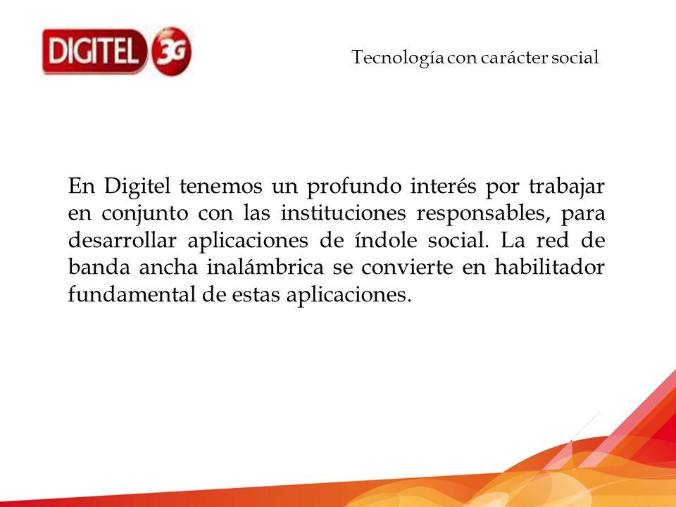 Tecnología con carácter social GRACIAS!!!