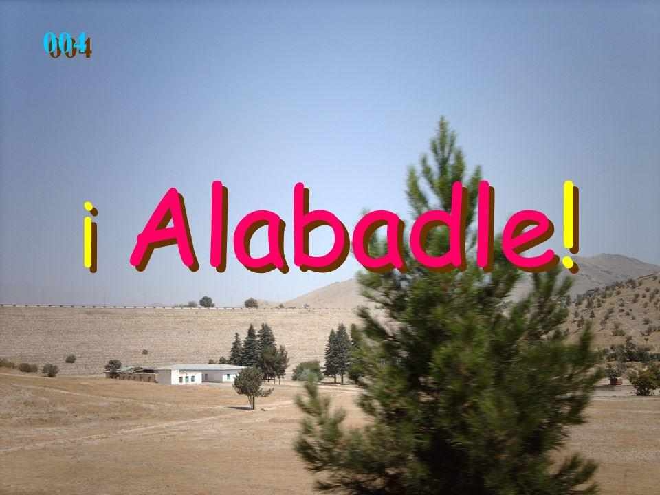 ¡ Alabadle! ¡ Alabadle! 004