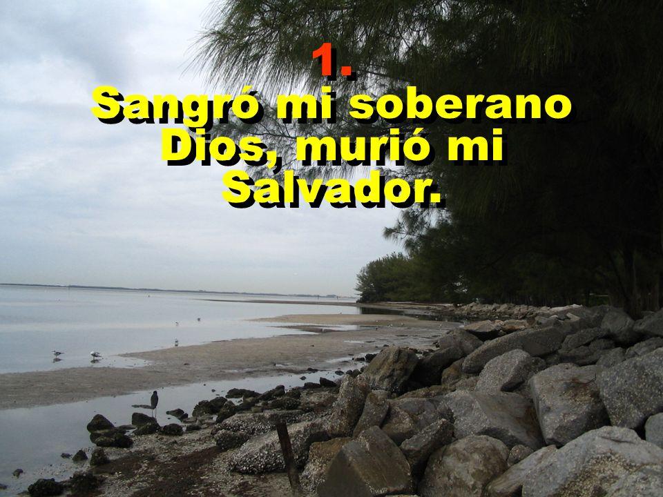 Coro ¡ Oh, Salvador, ayúdame; que sea fiel a ti; y cuando en gloria reines tú, acuérdate de mí.