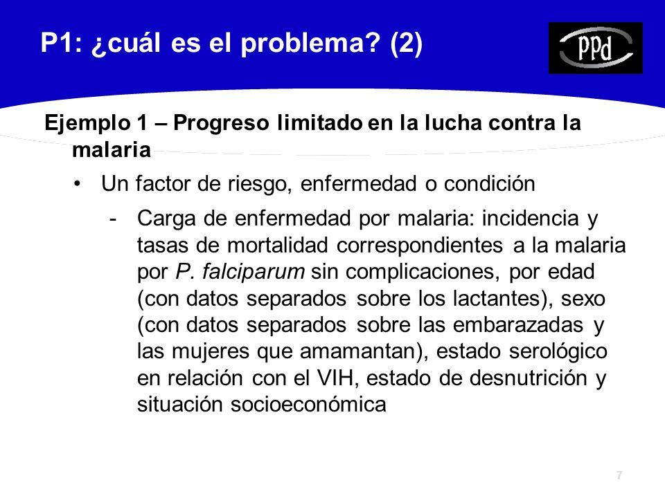 8 P1: ¿cuál es el problema.