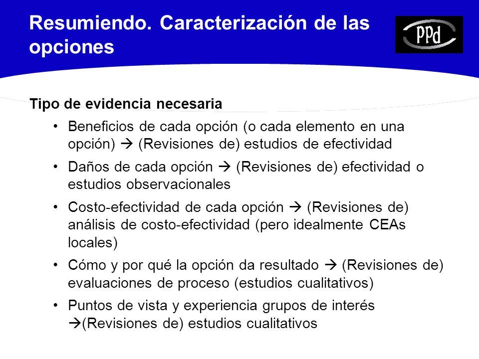 24 Criterios para evaluar la calidad de las revisiones sistemáticas (2) 7.¿Se ha evaluado la calidad científica de los estudios incluidos.