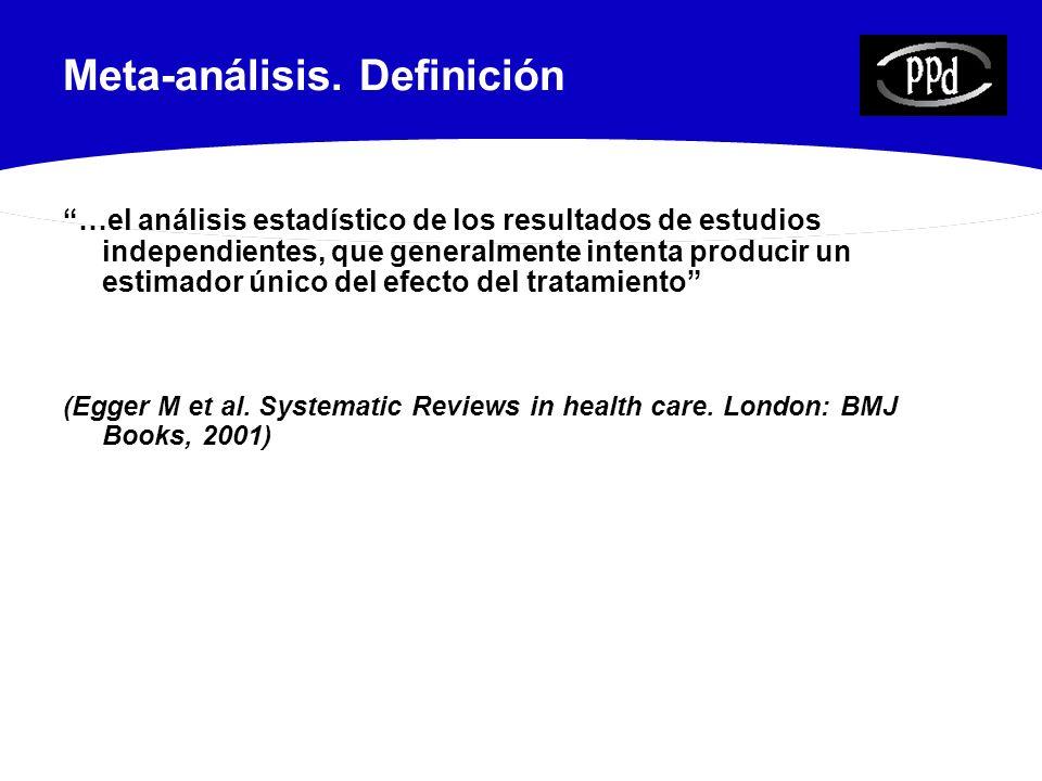 Revisión Sistemática.