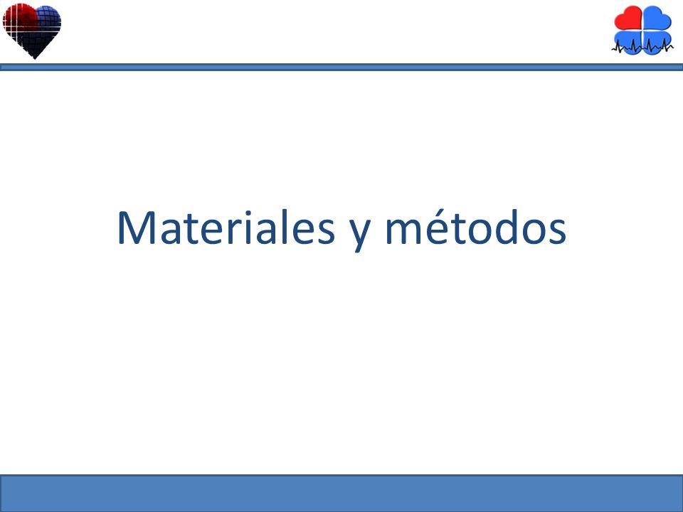 Mayo 2010 Materiales y métodos