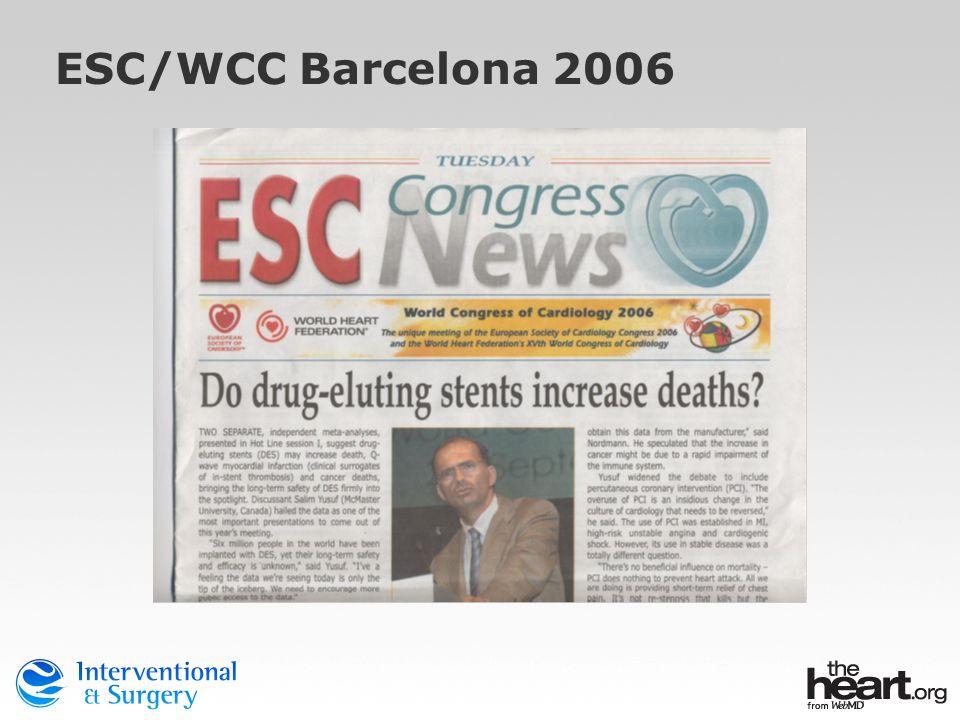 ESC/WCC Barcelona 2006