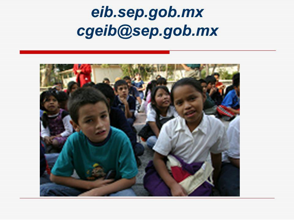 eib.sep.gob.mx cgeib@sep.gob.mx