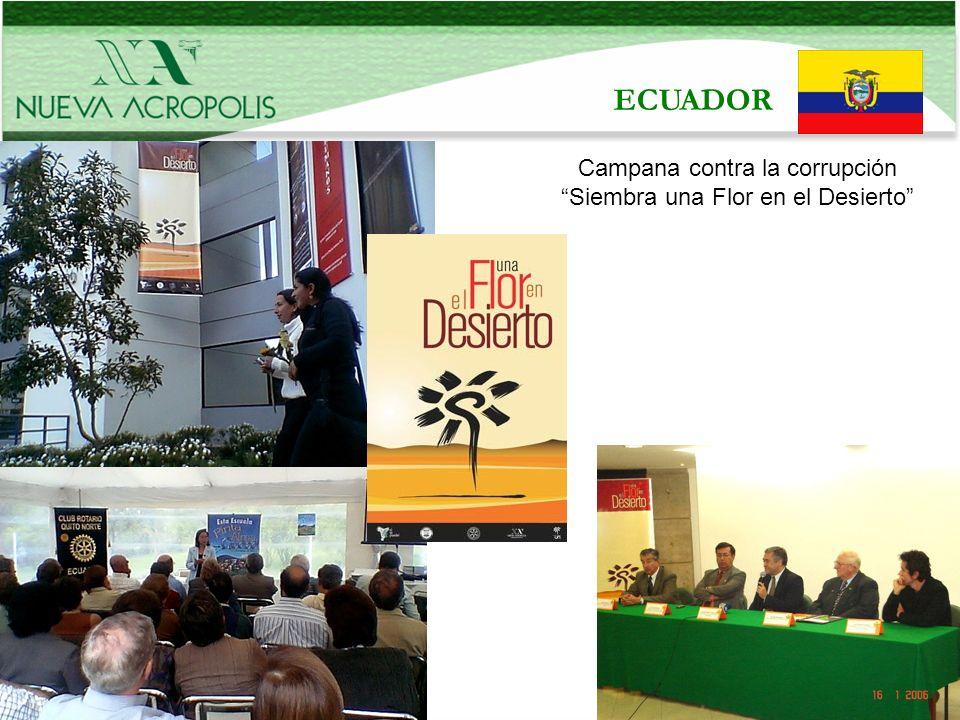 Beneficiarios: La sociedad ecuatoriana en general: por los Medios de Información como radios, prensa y TV.