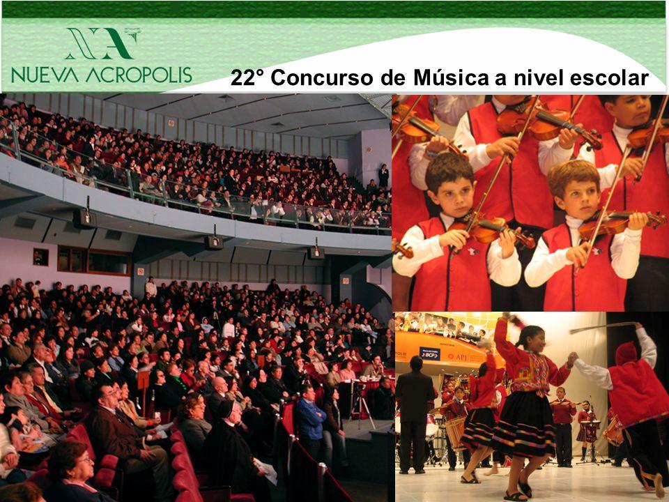 22° Concurso de Música a nivel escolar
