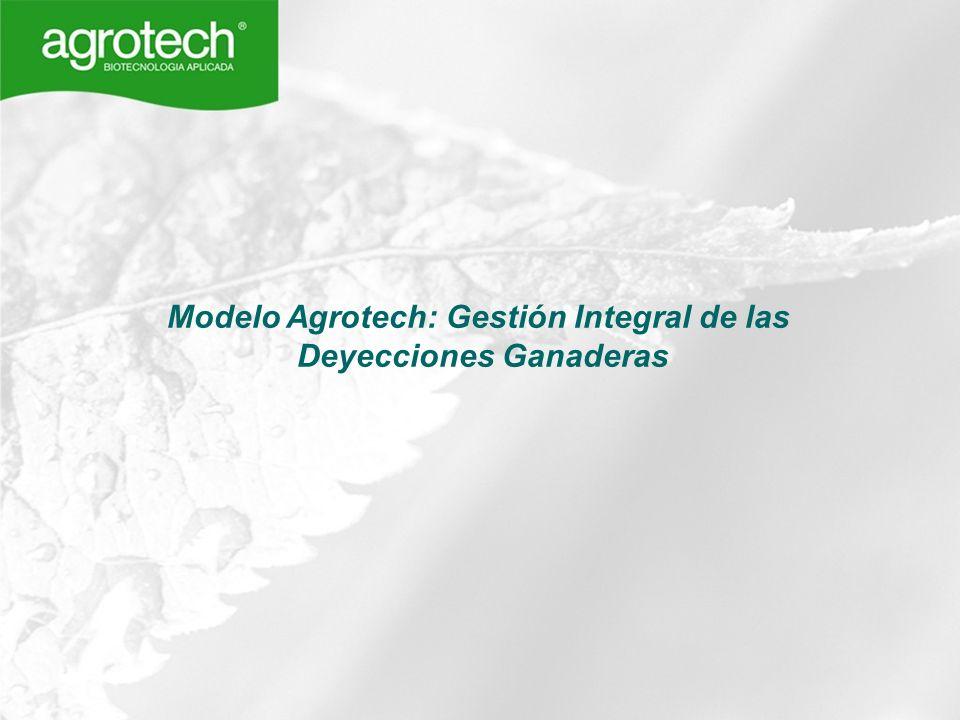 Modelo Agrotech: Gestión Integral de las Deyecciones Ganaderas