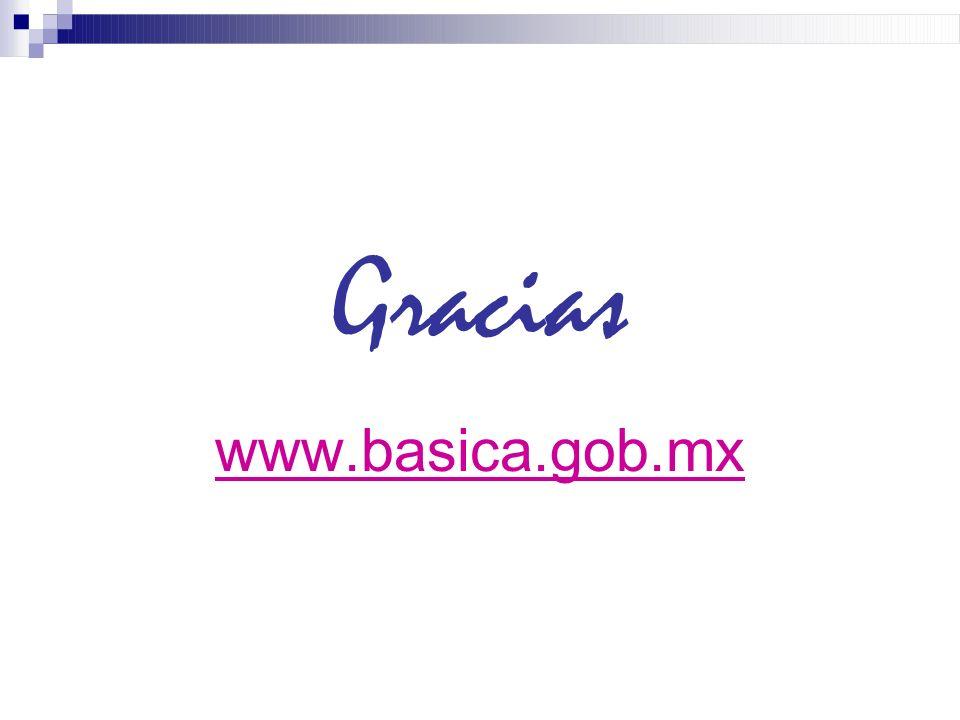 Gracias www.basica.gob.mx