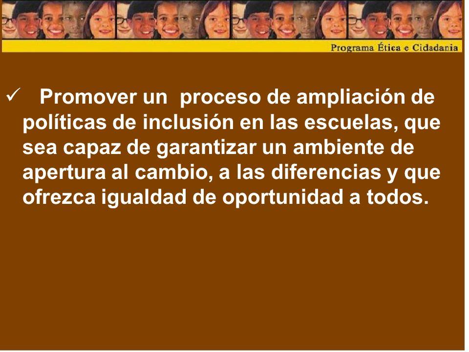 Principios que nortean el Programa Ética e Ciudadanía Favorecer el protagonismo de los alumnos y la construcción de valores, conocimientos personales, sociales y políticos, que objetiven el ejercicio de la ciudadanía.