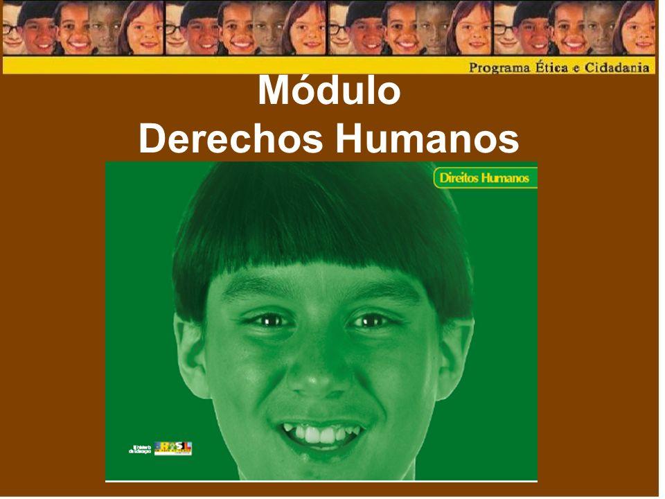 Objetivos Desarrollar la temática de los derechos humanos que objetiven la construcción de valores socialmente deseables; Conocer y desarrollar experiencias educativas centradas en la Declaración Universal de los Derechos Humanos (DUDH) y en el Estatuto del Niño y del Adolescente (ECA).
