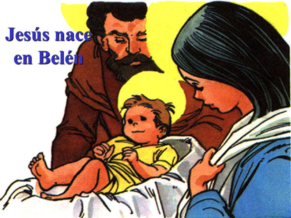 Jesús nace en Belén