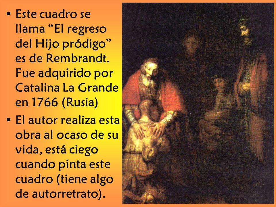 PARÁBOLA DEL HIJO PRÓDIGO Historia que habla del Amor de Dios, que ya existía antes de cualquier rechazo y que estará presente después de que se hayan producido todos los rechazos.
