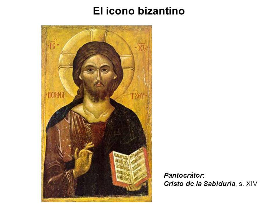 Pantocrátor: Cristo de la Sabiduría, s. XIV El icono bizantino