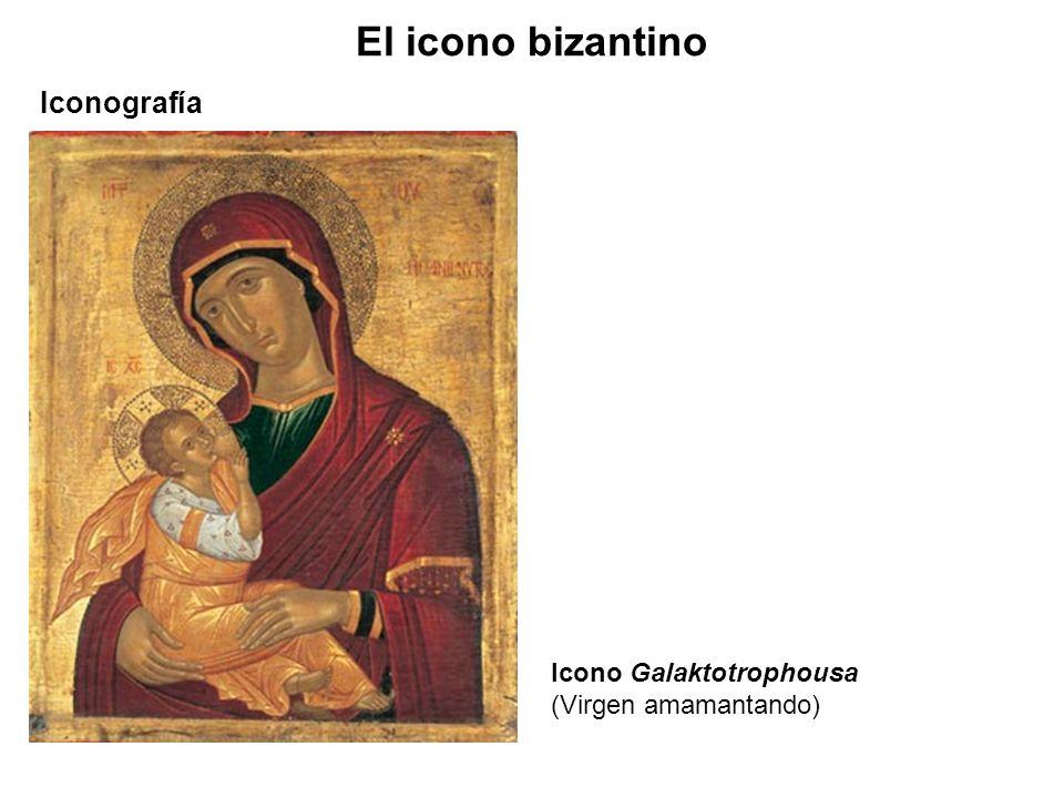Icono Galaktotrophousa (Virgen amamantando) Iconografía El icono bizantino