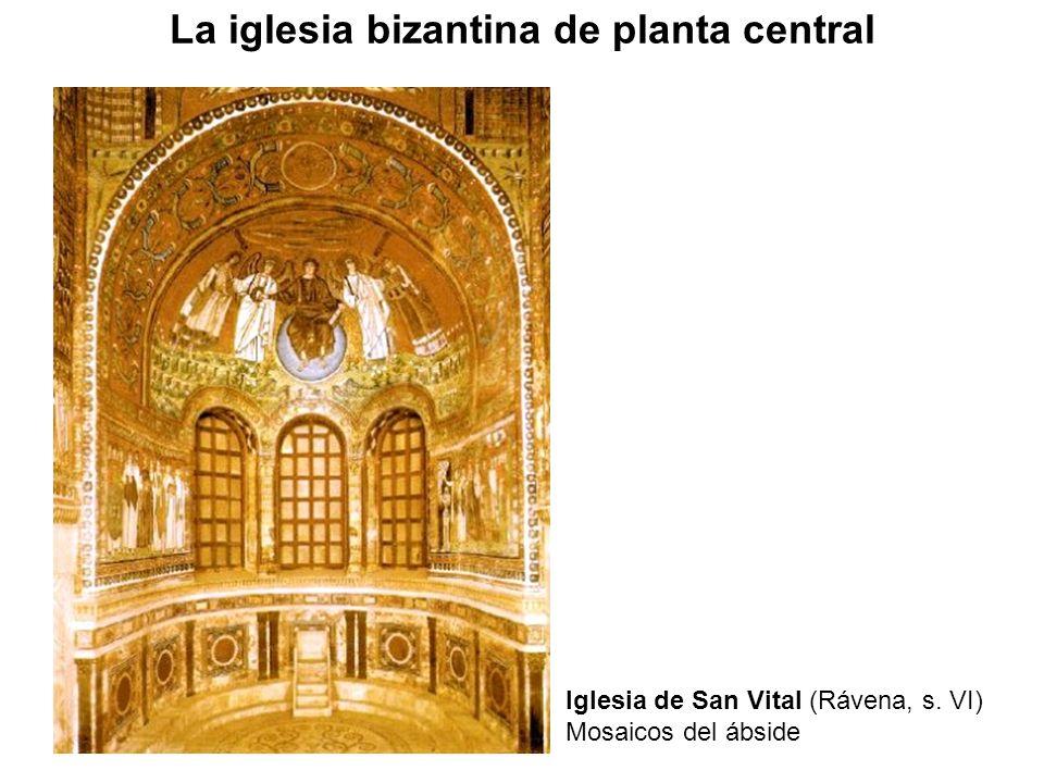 Iglesia de San Vital (Rávena, s. VI) Mosaicos del ábside