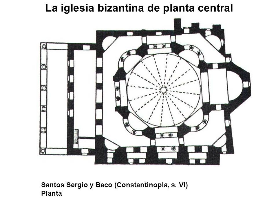 La iglesia bizantina de planta central Santos Sergio y Baco (Constantinopla, s. VI) Planta