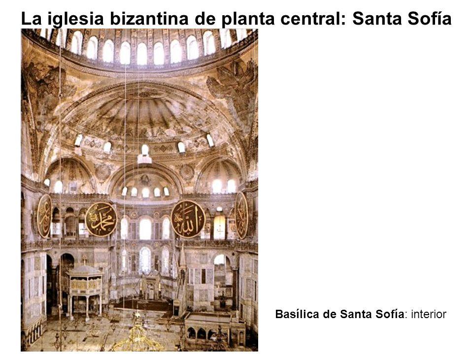 Basílica de Santa Sofía: interior