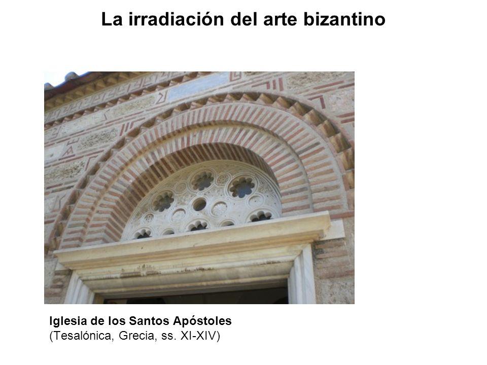 Iglesia de los Santos Apóstoles (Tesalónica, Grecia, ss. XI-XIV) La irradiación del arte bizantino