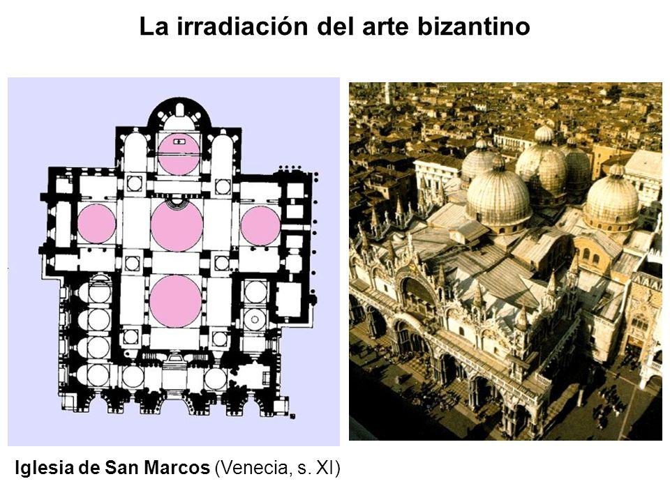 La irradiación del arte bizantino Iglesia de San Marcos (Venecia, s. XI)