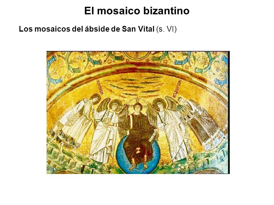 Los mosaicos del ábside de San Vital (s. VI)