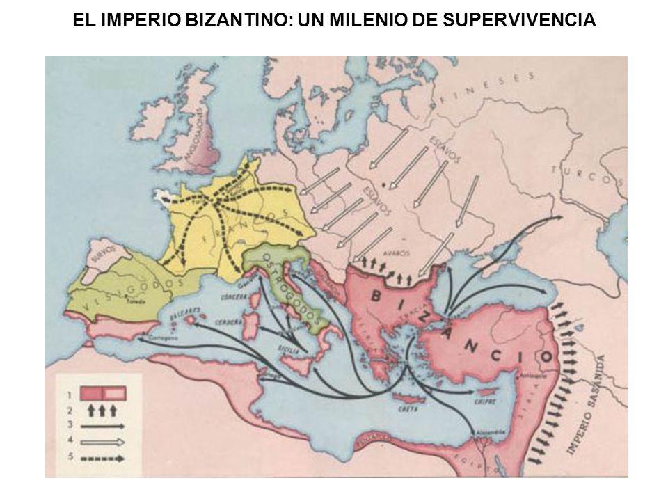 LA ARQUITECTURA BIZANTINA La capital del Imperio bizantino se convirtió en una gran urbe que competía en riqueza con la ciudad de Roma y reunía en sus calles y palacios tanto a la nobleza que rodeaba al emperador como al clero, que influía de manera notable en las decisiones políticas y en la vida social.