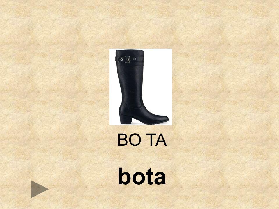 BA BONA TA BO __