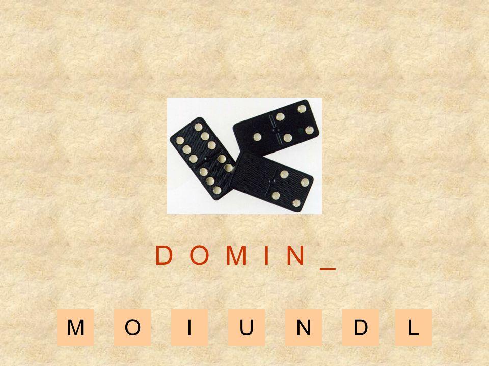 MOIUNDL D O M I _ _
