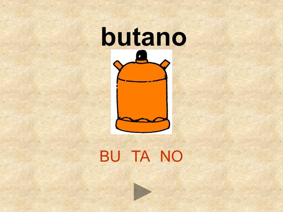 BUTANO butano