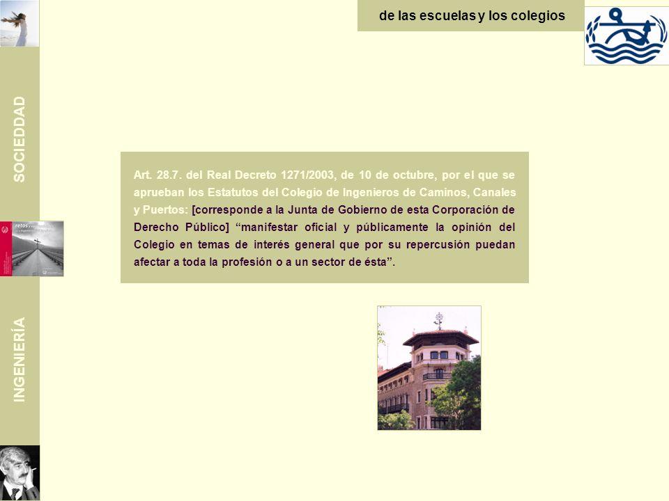 SOCIEDDAD INGENIERÍA de las escuelas y los colegios Art.