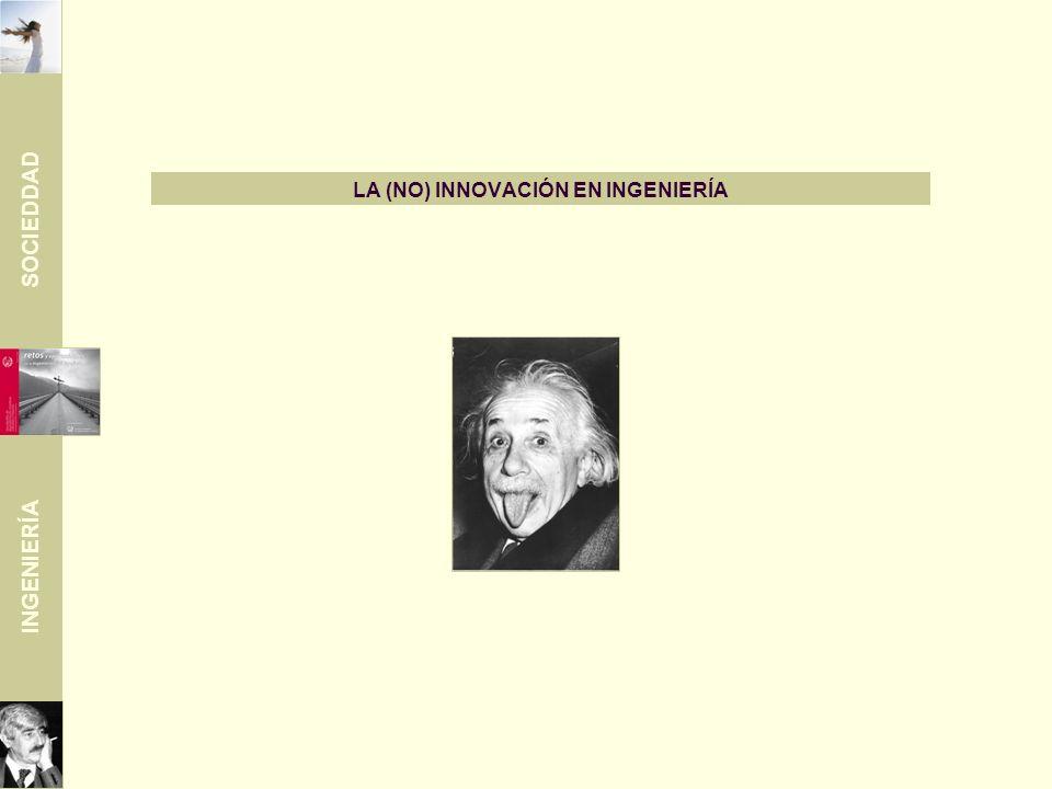 SOCIEDDAD INGENIERÍA LA (NO) INNOVACIÓN EN INGENIERÍA