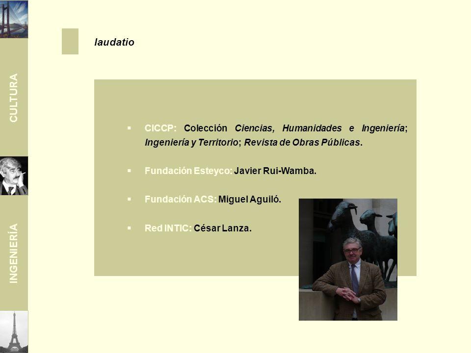 CULTURA INGENIERÍA CICCP: Colección Ciencias, Humanidades e Ingeniería; Ingeniería y Territorio; Revista de Obras Públicas.