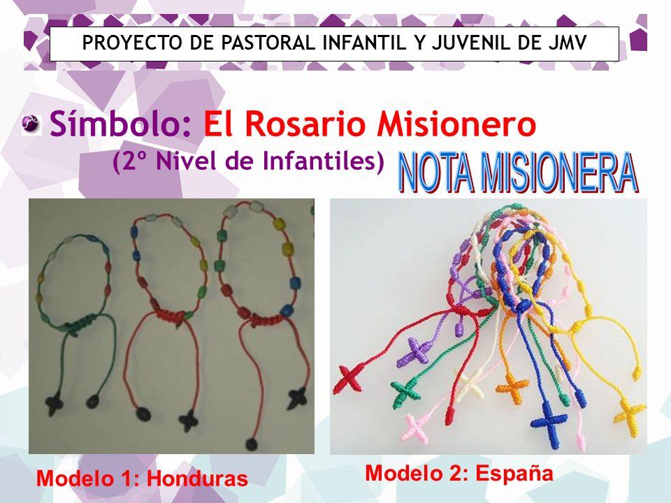PROYECTO DE PASTORAL INFANTIL Y JUVENIL DE JMV [1] [1] Como Asociación cristiana entregamos el Padrenuestro que nos identifica a todos como seguidores