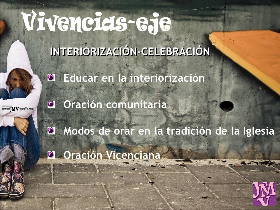 Educar en la interiorización Oración comunitaria Modos de orar en la tradición de la Iglesia Oración Vicenciana