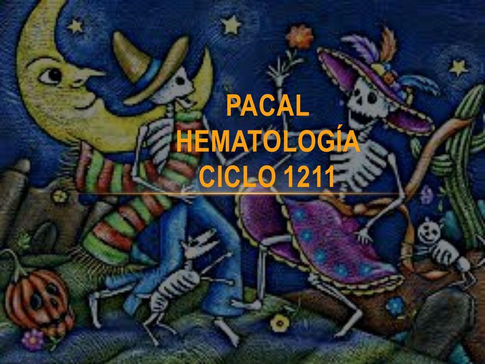 PACAL HEMATOLOGÍA CICLO 1211