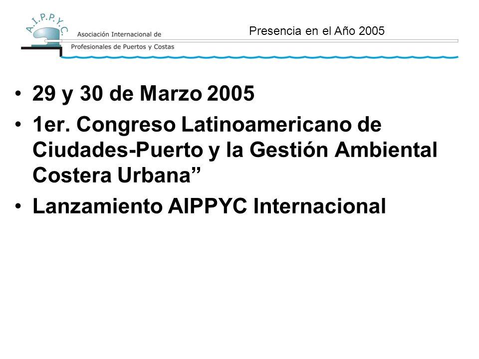 29 y 30 de Marzo 2005 1er.