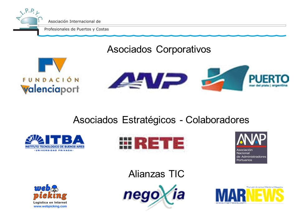 Asociados Corporativos Asociados Estratégicos - Colaboradores Alianzas TIC