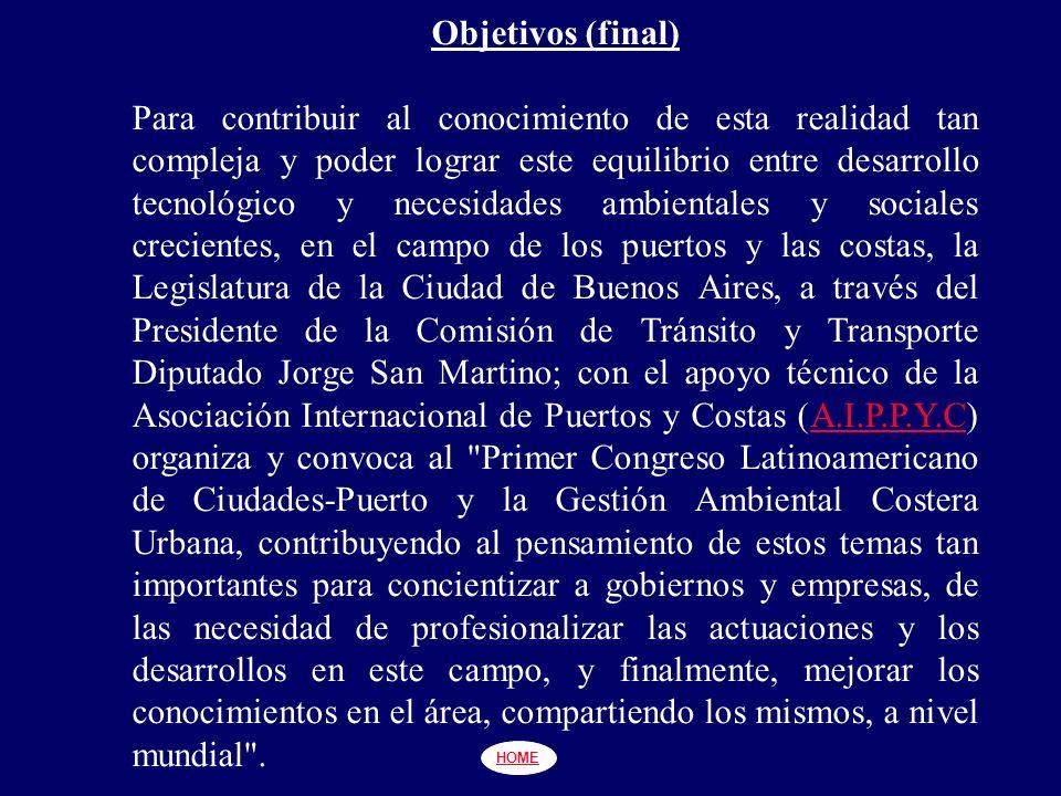 PUERTO - CIUDAD: RELACIÓN DE CRECIMIENTO Y DESARROLLO (A.I.P.P.Y.C.