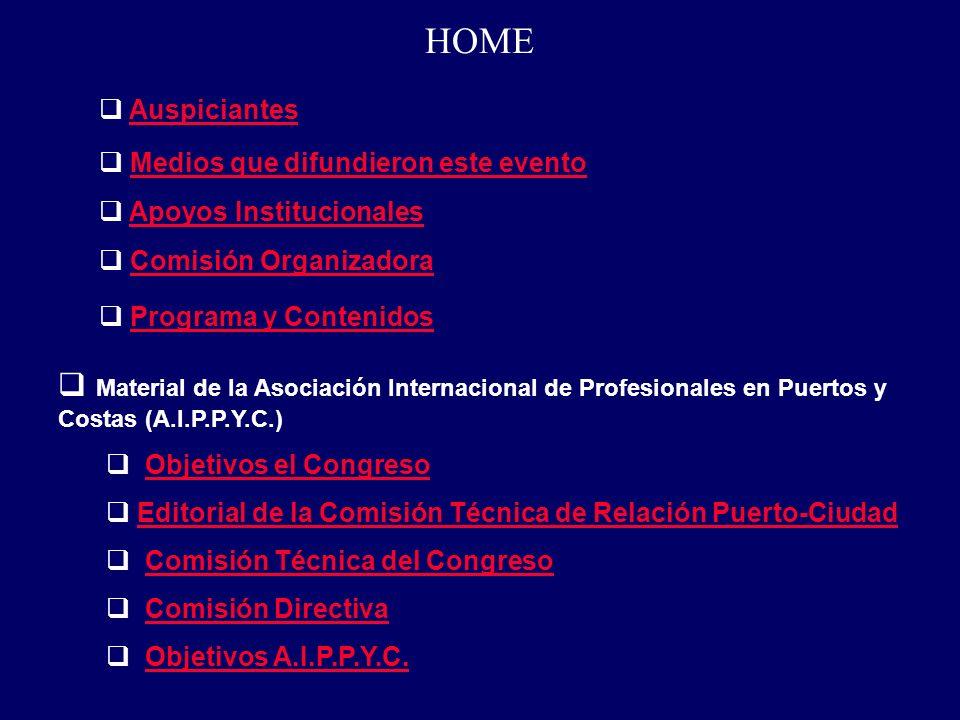 HOME www.gestion-logistica.com.ar Editando la Revista del CIP www.latintrade.com Medios que difundieron este evento: www.expotrade.com.ar/comercioexterior