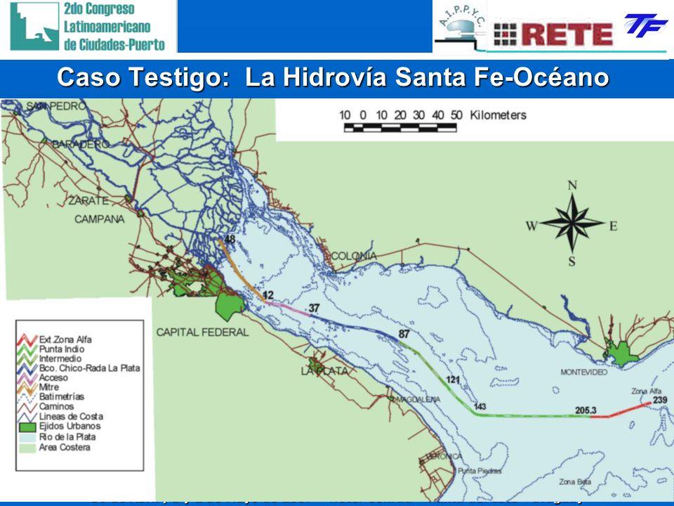 30 de Abril, 1 y 2 de Mayo de 2007 – Hotel Conrad – Punta del Este - Uruguay 13 Caso Testigo: La Hidrovía Santa Fe-Océano