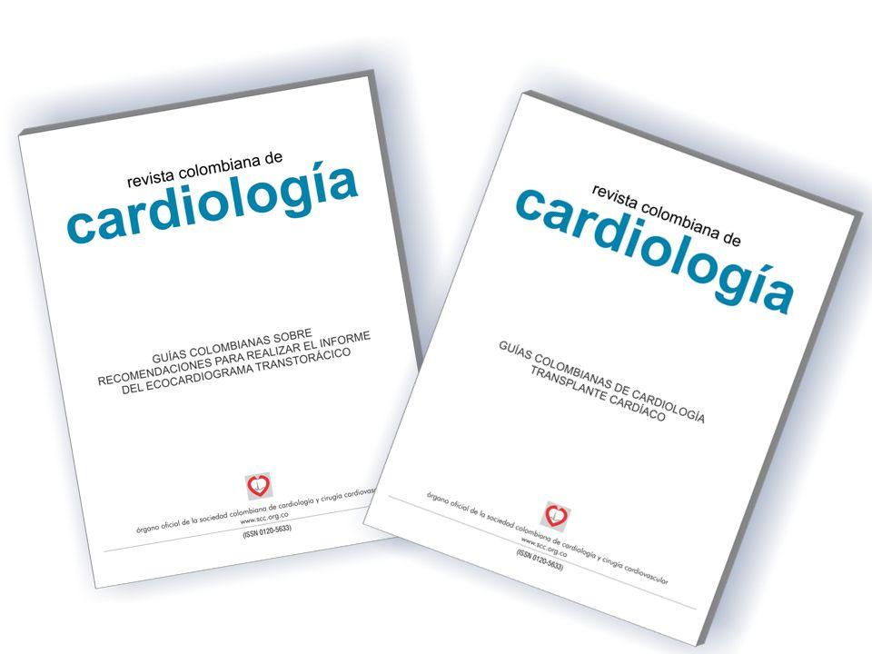 cardiología revista colombiana de años