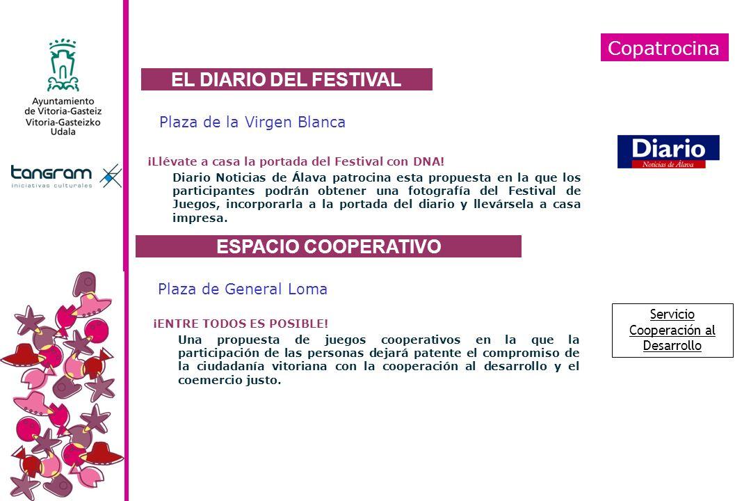 Copatrocina Plaza de la Virgen Blanca ¡Llévate a casa la portada del Festival con DNA! Diario Noticias de Álava patrocina esta propuesta en la que los