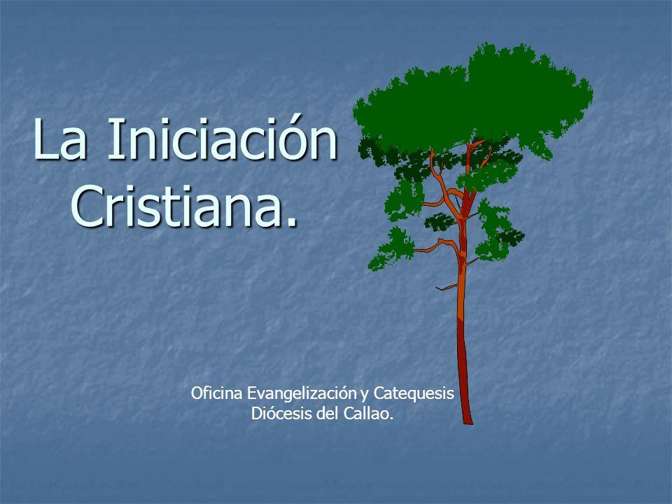 CONCEPTO.La Iniciación, es el período donde se ponen los fundamentos de la vida cristiana.