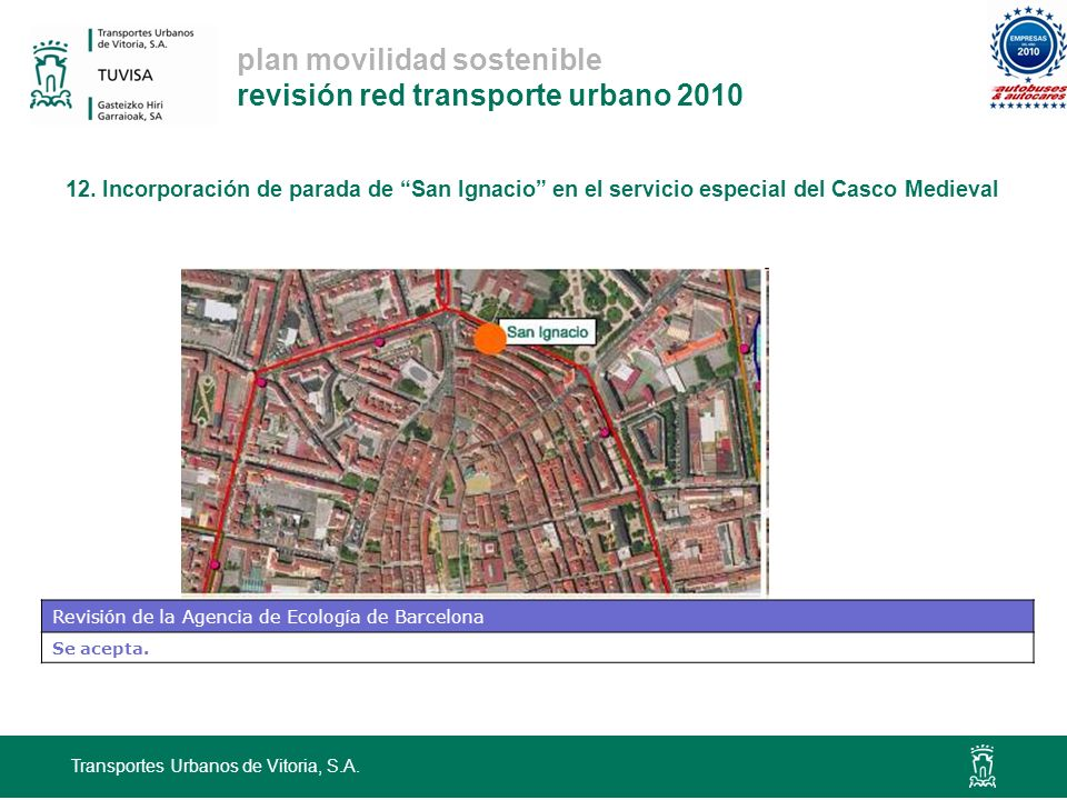 plan movilidad sostenible revisión red transporte urbano 2010 12.