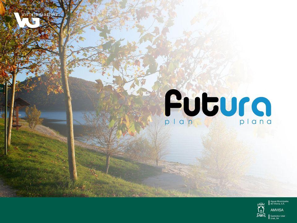 El Plan Futura se completa con los siguientes trabajos de gestión interna de AMVISA: Mantenimiento de la red de distribución.