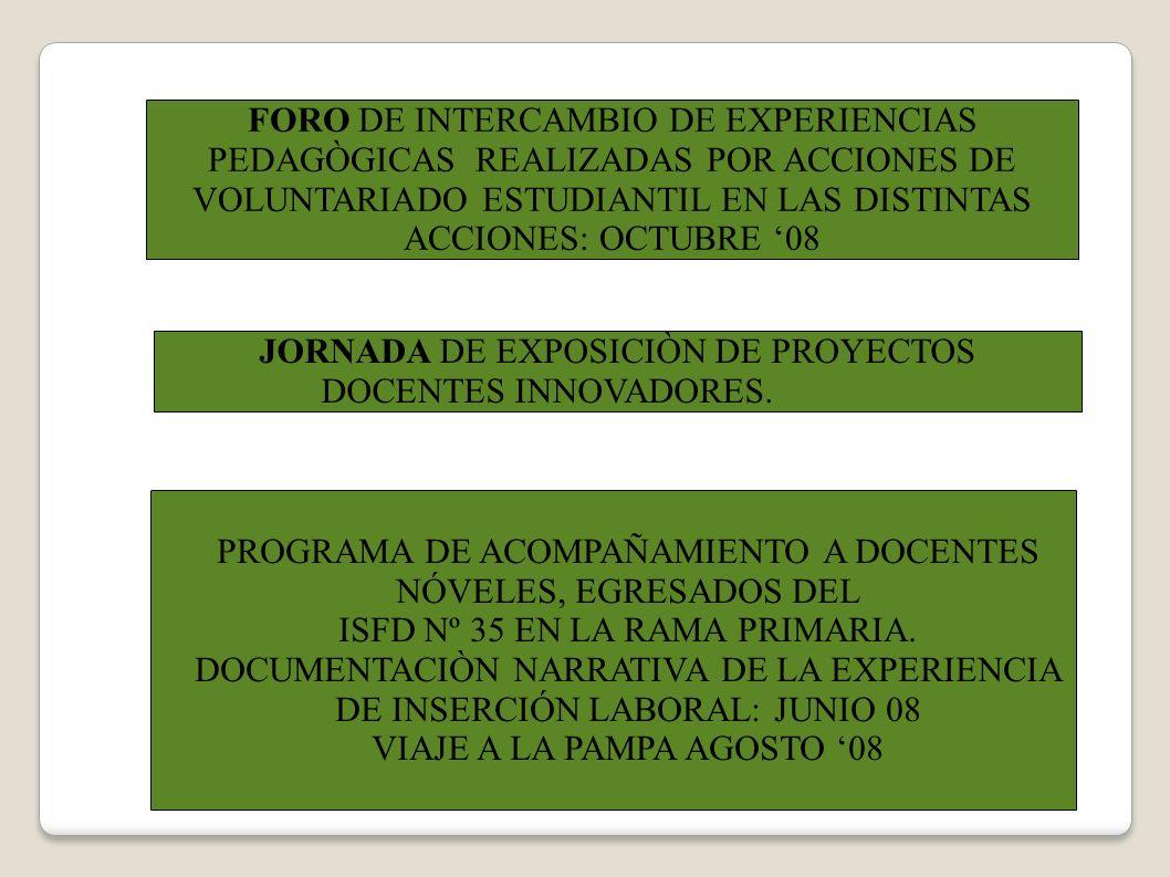 ESPACIOS DE DEBATE Y REFLEXIÓN SOBRE EL SENTIDO DE LA EDUCACIÓN EN EL CONTEXTO SOCIOCULTURAL ACTUAL CONFERENCIAS VIDEO - DEBATE JORNADAS EXTENSION