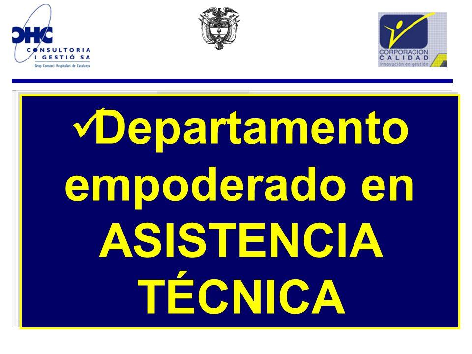 ASISTENCIA TÉCNICA TÉCNICAA.T. DIAGNOSTICO SITUACIONAL DEL R. S. FORMULACION A. T. FORMULACION IMPLEMENTACION IMPLEMENTACION RESULTADOS SEGUIMIENTO Mo