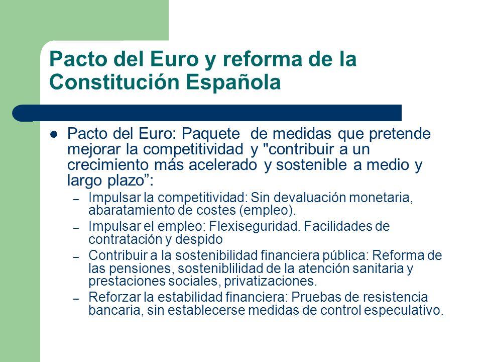Pacto del Euro: Paquete de medidas que pretende mejorar la competitividad y
